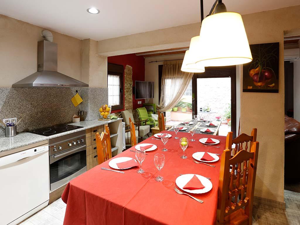 Zona cocina comedor